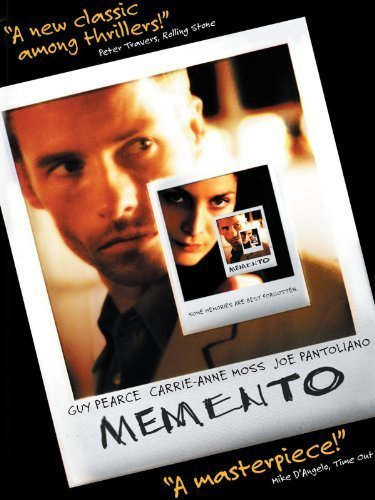 Memento movie poster.