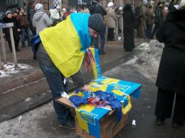 Selling symbols of free Ukraine