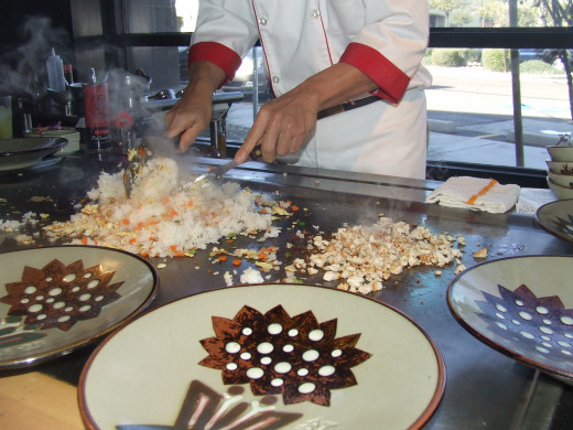 How To Cook Like A Benihana Chef!