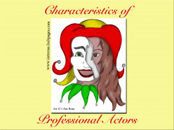 Characteristics of Professional Actors