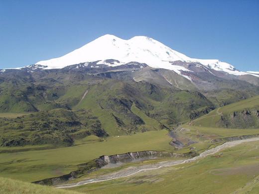 Mt Elbrus, Russia-Georgia