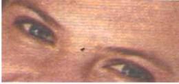 Eyes that really smile