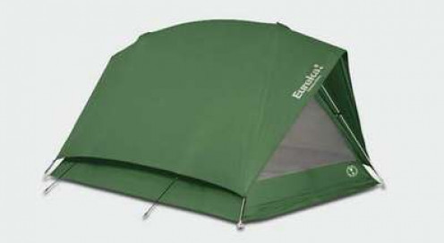 Shown here is a Eureka! Timberline 2. While great tents, the extra weight can be a burden on long multi-day backpacking trips.