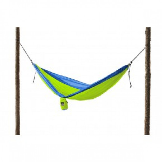 Shown here is a Grand Trunk Double Hammock