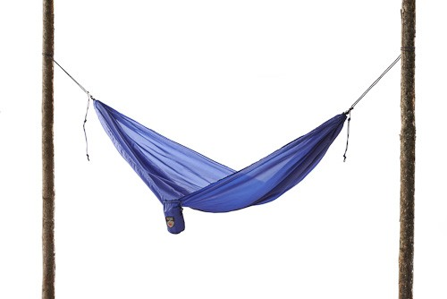 Shown here is the Grand Trunk Lightweight Travel Hammock