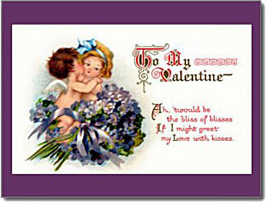 This is one of the many cards in Vintage Valentine's Day Cards & More from Sandyspider