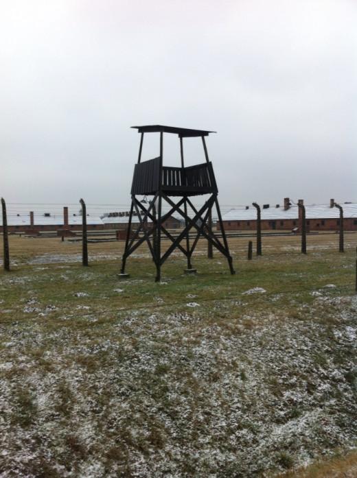 Birkenau, a gun tower