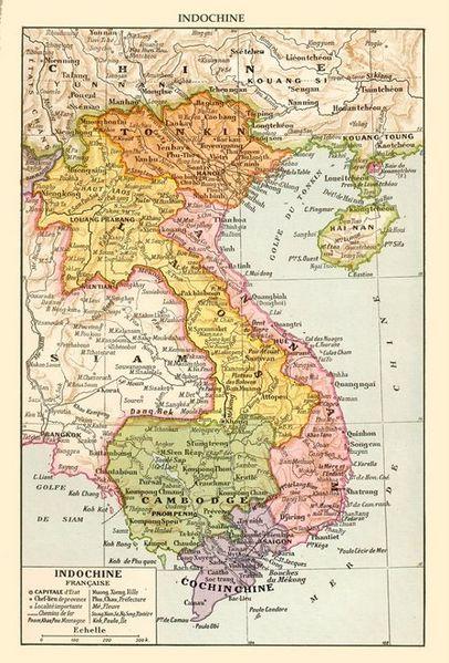 French Indochina, circa 1930.