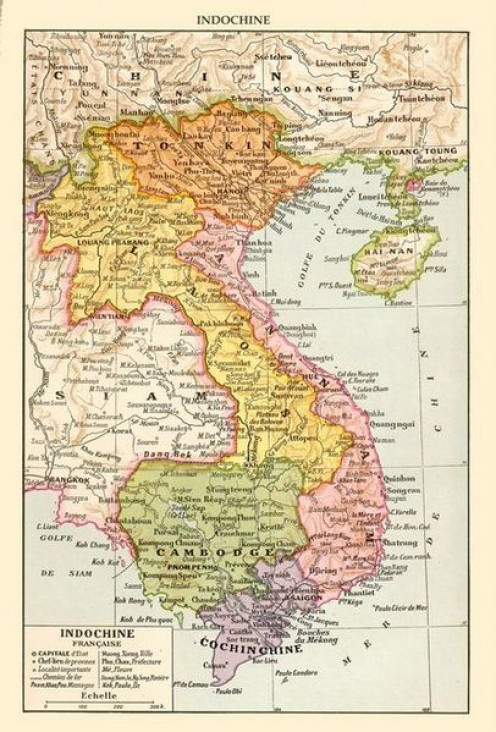 French Indochina, circa 1930.