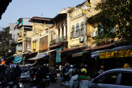 Intimate and friendly streets of the Old Quarter, Hanoi