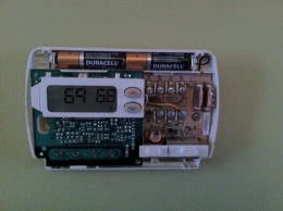 ...then check the inside of the thermostat.
