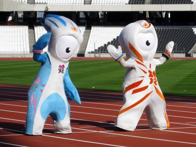 Have you ever seen a good Olympic mascot? They look like homoerotic aliens now