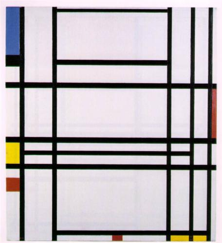 Piet Mondrian, Composition No.10, 1942