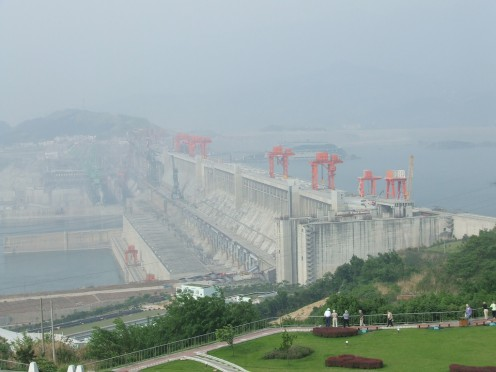 While the dam has produced massive amounts of pollution-free electricity, critics believe the sheer weight of water behind the dam can cause earthquakes and landslides (Wines,  2011, para 5).