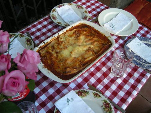 Home - made Lasagne