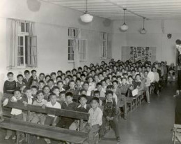 Residential schools were designed for the single task of smashing existing cultures and re-educating the young into a new invading culture.