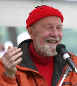What do you remember most about Pete Seeger?