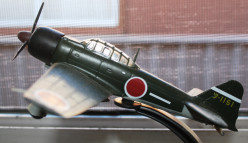 Model of the famous Japanese Zero. One of the best fighter aircraft of the 1930s era of aircraft design.