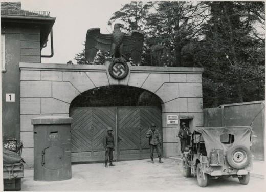 Dachau Concentration Camp: 1945