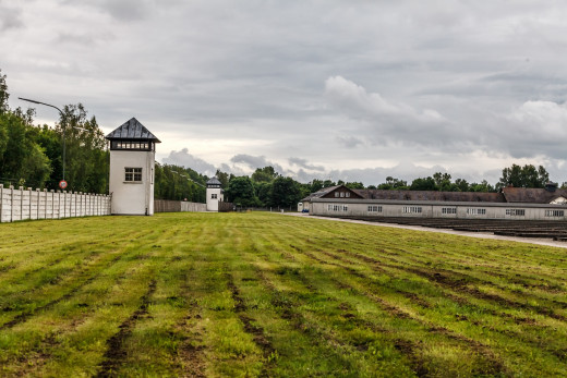 Dachau Concentration Camp as it looks today.