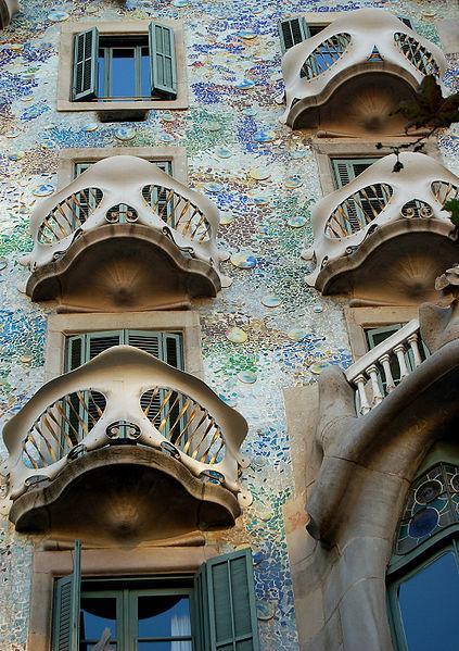Casa Batllo balconies
