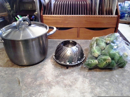 Easy Ingredients for Brussel Sprouts