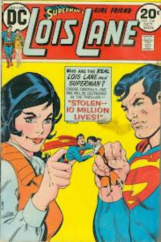 A 1970s copy of Superman's Girlfriend Lois Lane.