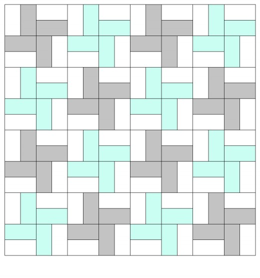 Easy Rectangle Quilt Patterns | Feltmagnet