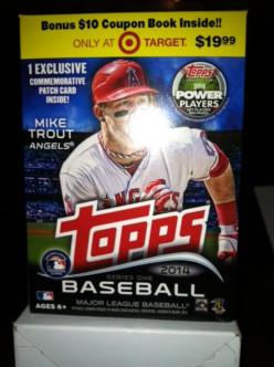 Topps 2014 Blaster Box Break
