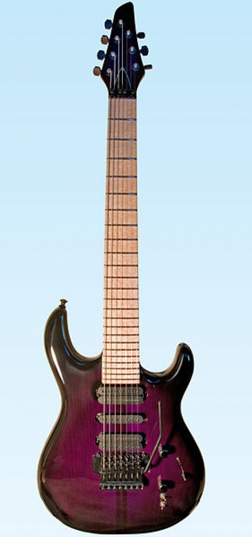 Carvin guitars like this gorgeous DC747 are custom made to order in their California factories.