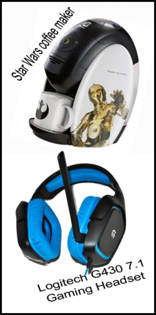 Have a coffee with the Star Wars coffee maker and enjoy listening the audios coming from your games, music or movies you're watching with a high quality headset.