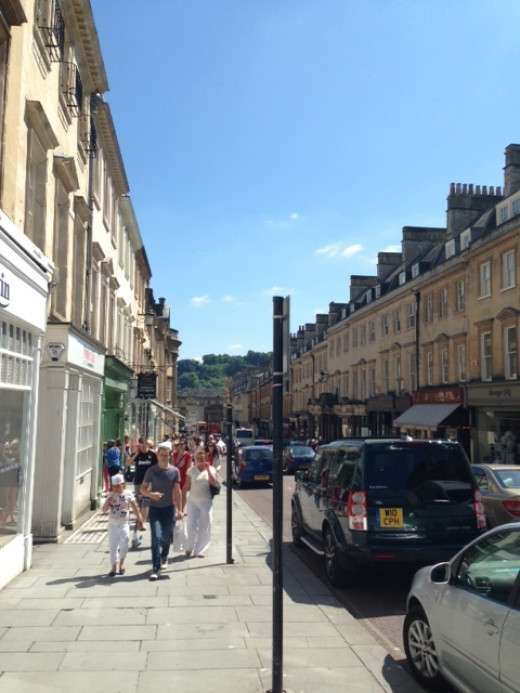 Milsom St, Bath, UK