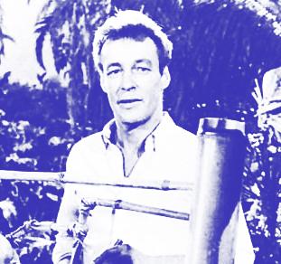 Russell Johnson as The Professor on Gilligan's Island