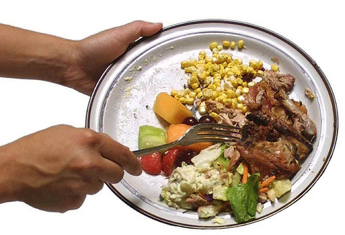 Do you WAIST or WASTE your food?