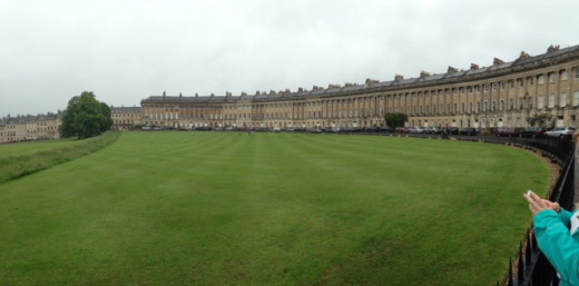The Royal Crescent, Bath, UK