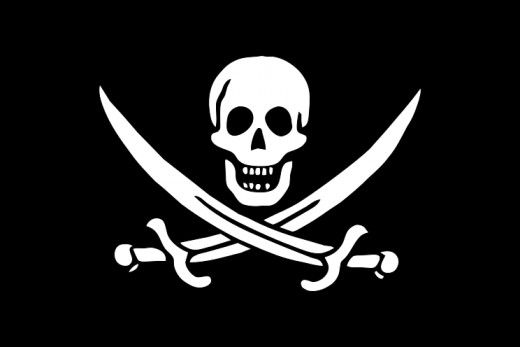 The Jolly Roger of Calico Jack