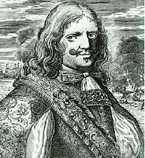 Sir Henry Morgan, in a popular 18th century woodcut
