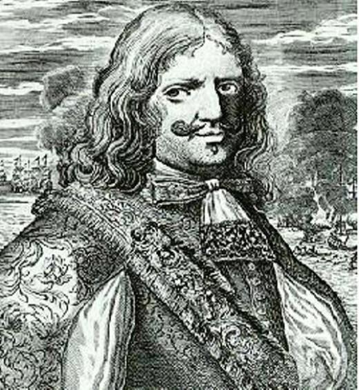 Sir Henry Morgan, in a popular 18th century woodcut