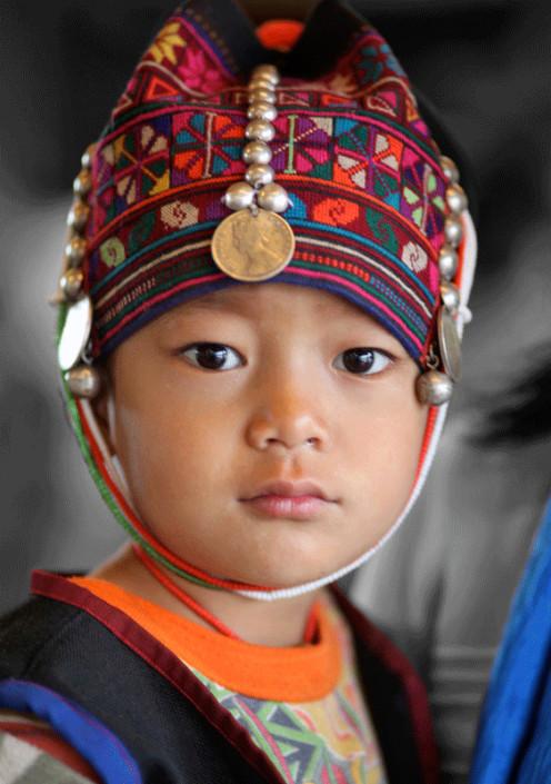 Ahka boy of north Thailand