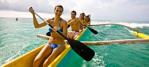 Outrigger Canoe Ride
