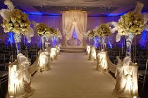 Classy weddings are about what you add to the venue