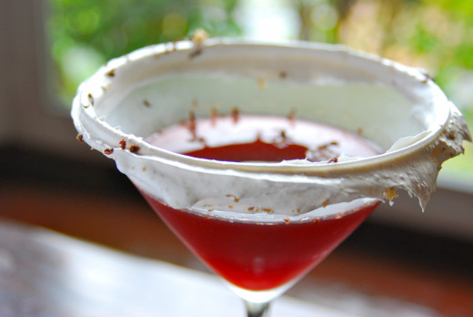 Cherry Pie Martini