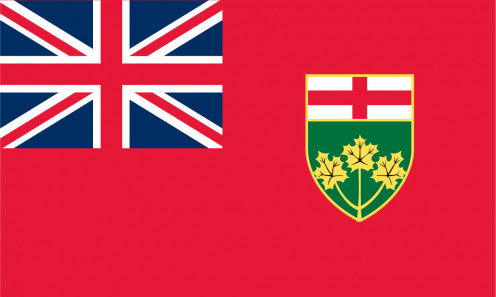 Provincial flag of Ontario