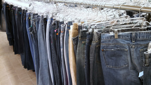 Goodwill Stores Have Lots of Used Clothes- And Cheap Prices!