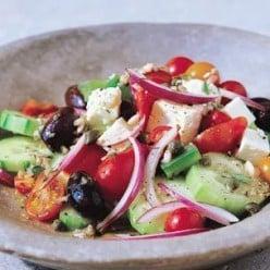 Easy, Delicious & Healthy-Authentic Greek Cucumber Salad Recipe