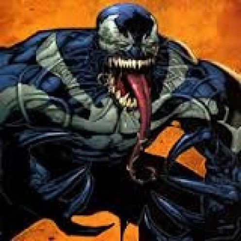Venom attaches to a host and takes over their lives and thoughts.