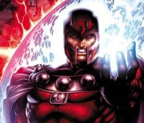 Magneto has amazing powers that allow him to create and control magnetic fields and he also controls other energy sources as well.