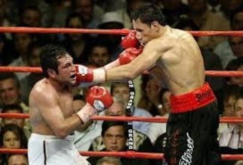 Although Sturm did not get the decision he gave Oscar De La Hoya a boxing lesson either way.