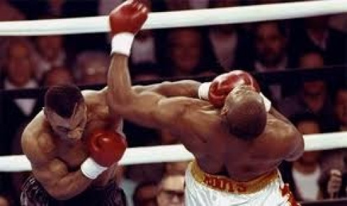 Mike Tyson fought Razor Rudduck twice. Tyson won both bouts against Rudduck. Tyson won the first bout by T.K.O. and the second match by decision.
