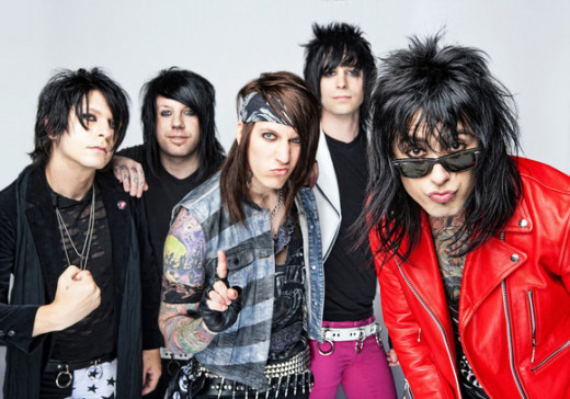 Falling in Reverse to date January 2014